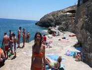 Пляж в Cala Creta