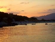 Porto Giunco вечером