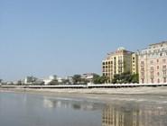 Пляж отеля на острове Лидо