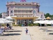 Пляж отеля Bagno Cervia