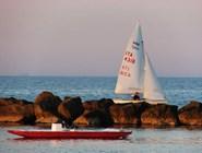 Цервия, пляж: на воде