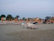 Пляж  в Савиньяно ранним утром