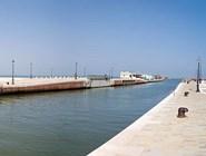 Городская пристань в Гаттео-а-Маре