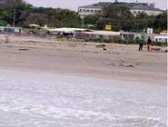 Пляж Lido Adriano во время отлива