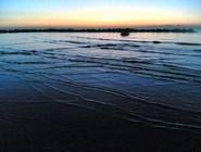 Пляж Lido di Classe на рассвете