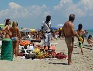 Пляж Metaponto