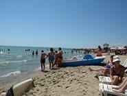 Песок на пляже Metaponto