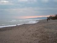 Песчаное побережье в Policoro
