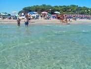 Бриндизи: городской песчаный пляж