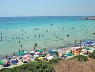 Таранто: городской песчаный пляж