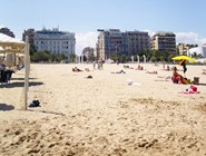 Пескара: городской пляж
