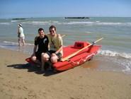 Пескара: водные виды спорта на пляже