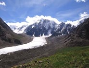 г. Карагем-Баши (3900 м) и Большой Маашейский ледник