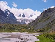 Софийский ледник и река Аккол