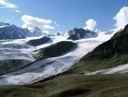 Талдуринский ледник - крупнейший ледник на российских территориях Алтая
