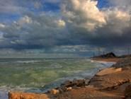 Пустынный пляж  Porto Recanati