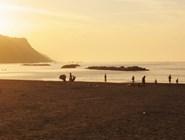 Пляж Baia Flaminia на рассвете