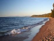 Песчаный пляж Баргузинского залива. Фото автора