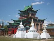 Храм-Дворец XII Пандито Хамбо Ламы Даши Доржо Итигэлова «Этигэл Хамбын ордон». Фото автора