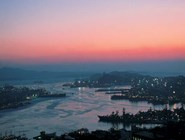 Вид на владивостокскую бухту Золотой Рог