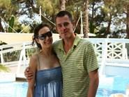 Екатерина Климова и Игорь Петренко на отдыхе