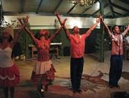 Кубинские танцоры в отеле Elounda Village