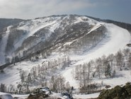 Горы на курорте Абзаково