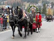Leonardiritt - ежегодный парад лошадей