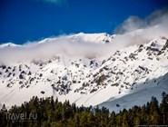 Окрестности Архыза зимой