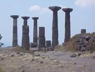 Руины храма Афины