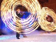 Огненное шоу в Валь-Торансе