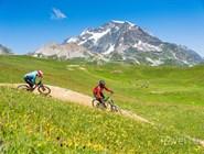 Вело-маршрут в Валь-д'Изере