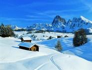Лыжный след в Валь-Гардене