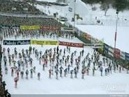 Соревнования по лыжному спорту La Marcialonga