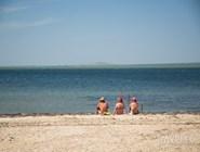 На пляже в Сенном