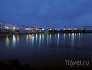 Вид на гавань Галлиполи ночью