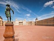 Плац перед Гатчинским дворцом