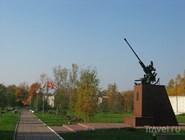 Монумент в Горках Ленинских