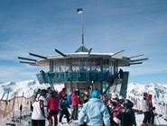 Top Mountain Star на вершине в Хохгургле