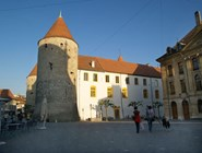 Замок в Ивердон-ле-Бан