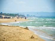 На пляже в Джемете