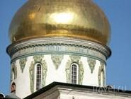 Купол Воскресенского собора Ново-Иерусалимского монастыря