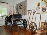 Первый зал старотитаровского казачьего музея