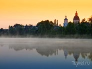 Озеро Подпесочное в Урюпинске