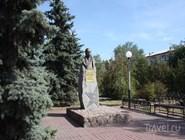 Памятник советскому военному С.М.Штеменко