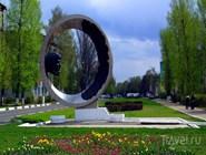Современный памятник в Коломне