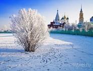 Окрестности Коломенского кремля