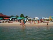 На пляже Кранево