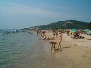 Протяженный пляж Кранево