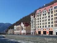 Альпийский горнолыжный курорт Роза Хутор